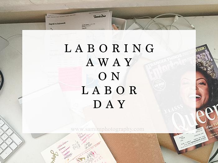 Ashburn Ga Photography Laboring Away on Labor Day