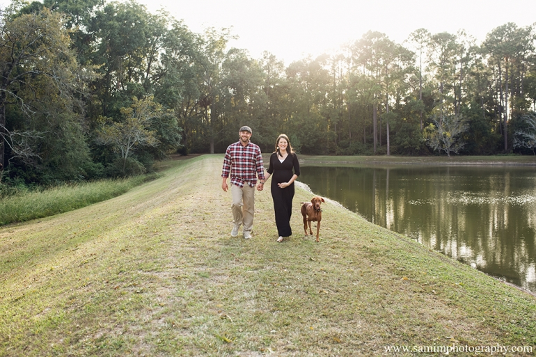 Ashburn Ga Photographer Fall Plaid Maternity Session