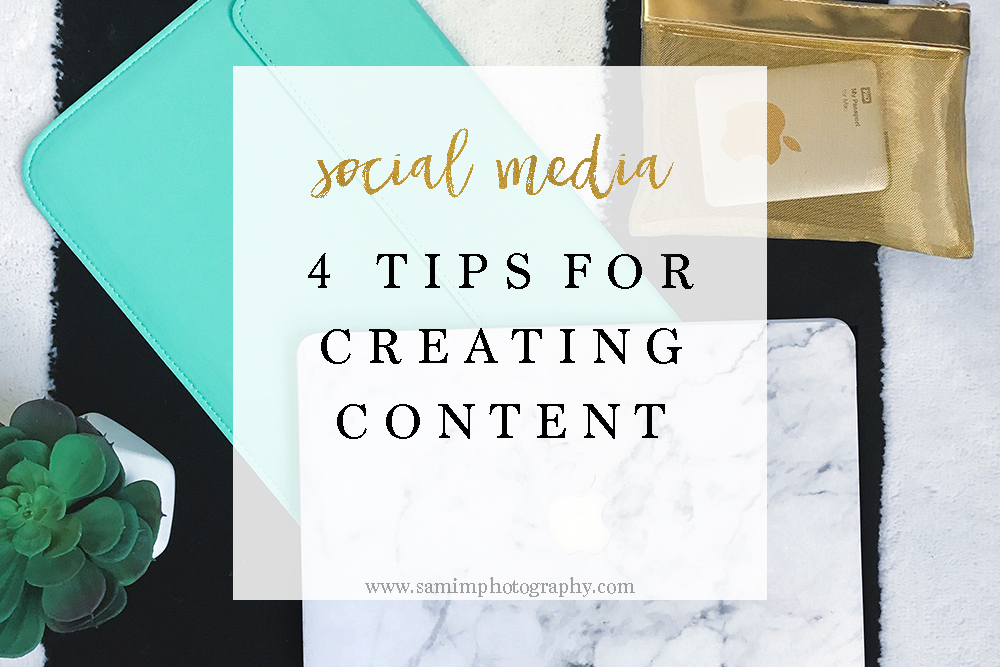 3 tips for creating quality images for Social Media