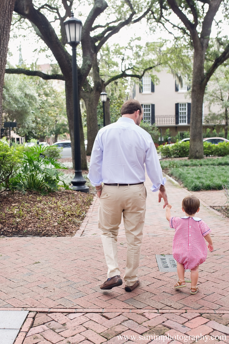 Downtown Savannah Family Session