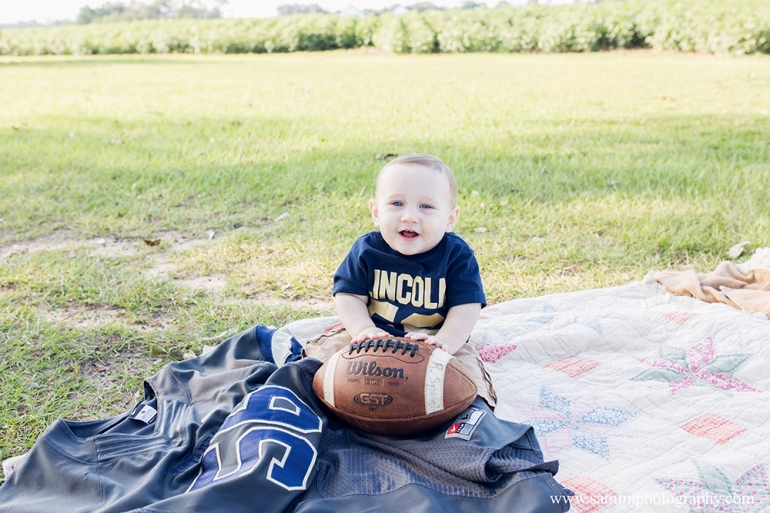 9 month Fall Session football jersey